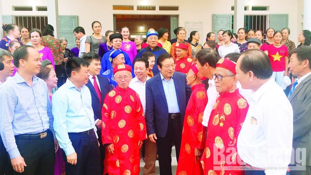 Diện mạo nông thôn mới Lạng Giang